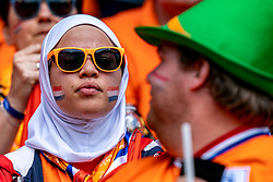 15-06-2019 FRA: Netherlands - Cameroon, Valenciennes<br /> FIFA Women's World Cup France group E match between Netherlands and Cameroon at Stade du Hainaut / Dutch Orange support fan