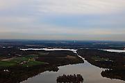Nederland, Limburg, Well, 15-11-2010; 't Leuken gezien naar Bosscherheide. .luchtfoto (toeslag), aerial photo (additional fee required).foto/photo Siebe Swart