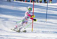 Paul Ladouceur Slalom ladies U12 first run.  ©2018 Karen Bobotas Photographer