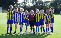 WREXHAM, WALES - Monday, July 22, 2019: xxxx during the Welsh Football Trust Cymru Cup 2019 at Colliers Park. (Pic by Paul Greenwood/Propaganda)