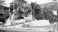 1950 Pilgrimage Play Theater on the east side of the Cahuenga Pass.