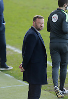 Football - 2020 / 2021 Sky Bet League Two - Morecambe vs. Bolton Wanderers<br /> <br /> Bolton Wanderers manager Ian Evatt looks on from the technical area as his side gained a 1-0 away win to strengthen their promotion prospects, at the Mazuma Stadium.<br /> <br /> COLORSPORT/ALAN MARTIN