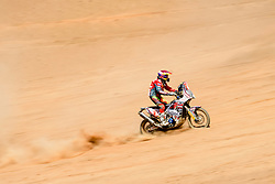 Anastasiya Nifontova (RUS) of Nifontova 13 Team races during stage 05 of Rally Dakar 2019 from Monquegua, to Arequipa, Peru on January 11, 2019 // Marcelo Maragni/Red Bull Content Pool // AP-1Y3JHUWED1W11 // Usage for editorial use only // Please go to www.redbullcontentpool.com for further information. //