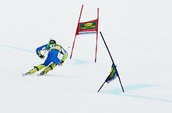 JAZBEC Patrick of Slovenia during the 2nd Run of 7th Men's Giant Slalom - Pokal Vitranc 2013 of FIS Alpine Ski World Cup 2012/2013, on March 9, 2013 in Vitranc, Kranjska Gora, Slovenia. (Photo By Vid Ponikvar / Sportida.com)