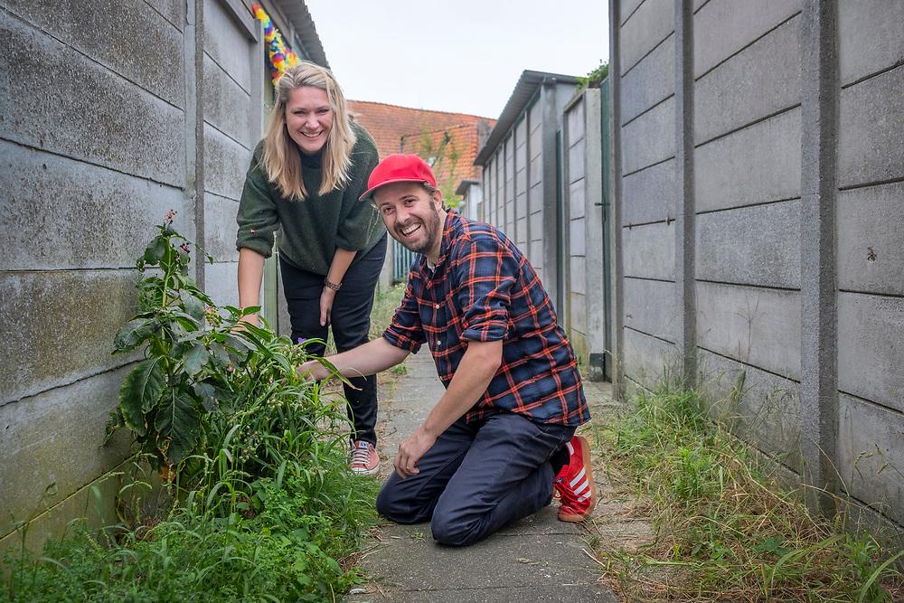 Netherlands. Eindhoven, 17-09-2019. Photo: Patrick Post. Duurzame 100- Struikroven met Bernice Kamphuis en Vincent Wittenberg.