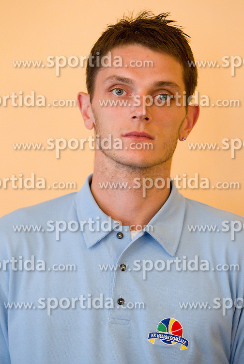 Vlado Pasalic during press conference of basketball team KK Helios Domzale before new season 2010-2011, on September 27, 2010 in Domzale, Slovenia. (Photo By Vid Ponikvar / Sportida.com)
