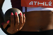 Illustration in women shot put during the Athletics French Championships 2018, in Albi, France, on July 6th, 2018 - Photo Philippe Millereau / KMSP / ProSportsImages / DPPI