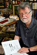 Local historian Doug Bast in his library, Boonsboro, MD