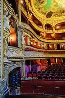 France, Manche (50), Cherbourg-Octeville, place du Général de Gaulle, le théâtre à l'italienne // France, Normandy, Manche department, Cherbourg-Octeville, General de Gaulle square, theater