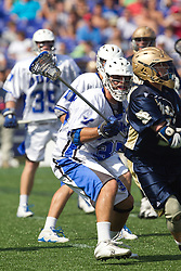 31 May 2010: Duke Blue Devils defenseman Mike Manley (37) in a 5-6 win over the Notre Dame Fighting Irish for the NCAA Lacrosse Championship at M&T Bank Stadium in Baltimore, MD.