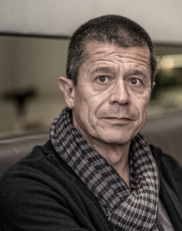 Netherlands. Amsterdam, 18-5-2015. Photo: Patrick Post. Portrait of Emmanuel Carrere (born 9 December 1957) is a French author, screenwriter and director.