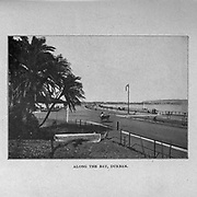 Along the Bay, Durban from the book ' Boer and Britisher in South Africa; a history of the Boer-British war and the wars for United South Africa, together with biographies of the great men who made the history of South Africa ' By Neville, John Ormond Published by Thompson & Thomas, Chicago, USA in 1900