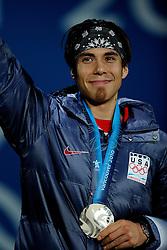 14-02-2010 ALGEMEEN: OLYMPISCHE SPELEN: CEREMONIE: VANCOUVER<br /> Ceremonie 1500 meter shorttrack / OHNO Apolo Anton USA <br /> ©2010-WWW.FOTOHOOGENDOORN.NL
