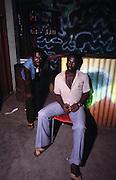 Fans - backstage at the Shrine - 1978