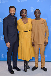 Chiwetel Ejiofor, Aissa Maiga and Maxwell Simba attending The Boy Who Harnessed The Wind Photocall as part of the 69th Berlin International Film Festival (Berlinale) in Berlin, Germany on February 12, 2019. Photo by Aurore Marechal/ABACAPRESS.COM