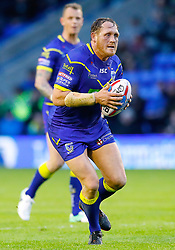 Warrington Wolves' Ben Westwood in action against Huddersfield Giants , during the Betfred Super League match at the Halliwell Jones Stadium, Warrington.