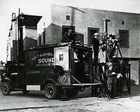 1930 Filming at Hollywood Studios