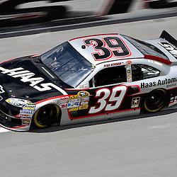 April 16, 2011; Talladega, AL, USA; NASCAR Sprint Cup Series driver Ryan Newman (39) during qualifying for the Aarons 499 at Talladega Superspeedway.   Mandatory Credit: Derick E. Hingle