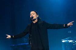 © Licensed to London News Pictures. 29/01/2015. London, UK.   Jessie Ware performing live at Brixton Academy.   Jessie Ware is an English singer-songwriter.   Ware's debut album 'Devotion' was nominated for a Mercury Music prize in 2012.  Photo credit : Richard Isaac/LNP