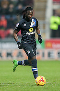 Marvin Emnes (Blackburn Rovers) runs with the ball during the EFL Sky Bet Championship match between Rotherham United and Blackburn Rovers at the AESSEAL New York Stadium, Rotherham, England on 11 February 2017. Photo by Mark P Doherty.