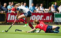 HUIZEN - bij de eerste play off wedstrijd voor promotie naar de hoofdklasse , Huizen-Nijmegen (3-2) COPYRIGHT KOEN SUYK