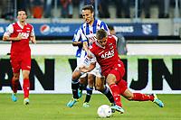 Fotball, 3. august 2013 , SC Heerenveen - AZ Alkmaar , , SC Heerenveen speler Mangus Wolff Eikrem (l), AZ speler Markus Henriksen (r).<br /> Norway only