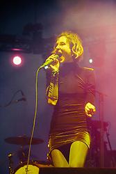 Polica performs at Treasure Island Music Festival - 10/19/2014