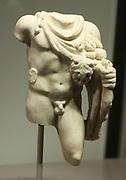 Statuette of Silvanus Marble Second Century AD.