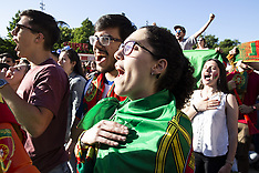 Portugal Fans In The World Cup - 15 June 2018