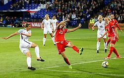 Fran Kirby of England fires a shot at goal  - Mandatory by-line: Matt McNulty/JMP - 19/09/2017 - FOOTBALL - Prenton Park - Birkenhead, United Kingdom - England v Russia - FIFA Women's World Cup Qualifier