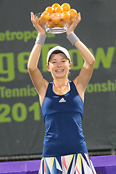 December 10, 2016 - Plantation, Florida, United States - KATIE VOLYNETS of the United States poses for a photo after winning the girls 16 and under final in the Metropolia Orange Bowl International Tennis Championship in Plantation Florida (Credit Image: © Christopher Levy via ZUMA Wire)