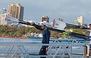 "Rio de Janeiro. BRAZIL.  GBR M8+, Tom RANSLEY.  2016 Olympic Rowing Regatta. Lagoa Stadium,<br />Copacabana,  ""Olympic Summer Games""<br />Rodrigo de Freitas Lagoon, Lagoa.   Thursday  11/08/2016 <br /><br />[Mandatory Credit; Peter SPURRIER/Intersport Images]"