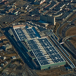 Aerial view of Solar Power Convention center Atlantic City, New Jersey