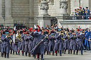 A memorial service, fly and march past for all the forces who fought in Afghanistan is attended by the Royal Family. St Paul's Cathedral, London, UK 13 Mar 2015