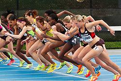 adidas Grand Prix track & field: Diamond League professional meet, womens 1500 meters, start