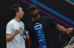 July 19, 2017 - Shenyang, Shenyang, China - Shenyang, CHINA-July 19 2017: (EDITORIAL USE ONLY. CHINA OUT) ..Basketball player Dwyane Wade visits Shenyang in northeast China's Liaoning Province during his 'Make Your Own Way' journey, July 19th, 2017. (Credit Image: © SIPA Asia via ZUMA Wire)