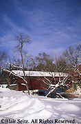 PA Covered Bridges, Yellow Breeches Creek, Messiah College, Cumberland and York Co., Pennsylvania
