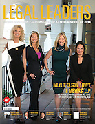Meyer, Olson, Lowy, & Meyers Legal Leaders cover