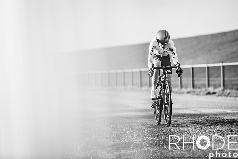 Nina Buijsman (NED/Parkhotel Valkenburg)<br /> <br /> Healthy Ageing Tour (NED) 2021<br /> UCI Women Elite 2.1<br /> Stage 2 : Individual Time Trial (ITT) – Lauwersoog – Het Hoogeland 14.4km<br /> <br /> ©RhodePhoto