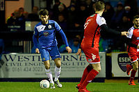 Jason Oswell. Stockport County FC 3-0 Kidderminster Harriers FC, 16.1.18. Buildbase FA Trophy