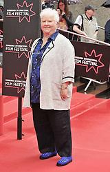 "Edinburgh International Film Festival, Sunday 26th June 2016<br /> <br /> Stars turn up on the closing night gala red carpet for the World Premiere of ""Whisky Galore!""  at the Edinburgh International Film Festival 2016<br /> <br /> Val McDermid<br /> <br /> (c) Alex Todd   Edinburgh Elite media"