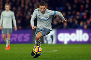 Gylfi Sigurdsson of Everton in action. Premier League match, Crystal Palace v Everton at Selhurst Park in London on Saturday 18th November 2017.<br /> pic by Steffan Bowen, Andrew Orchard sports photography.
