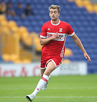 Middlesbrough's Patrick Bamford<br /> <br /> Photographer /Mick Walker CameraSport<br /> <br /> Football - Pre-Season Friendly - Mansfield Town v Midddlesbrough - Wednesday 19th July 2017 - Field Mill - Mansfield<br /> <br /> World Copyright © 2017 CameraSport. All rights reserved. 43 Linden Ave. Countesthorpe. Leicester. England. LE8 5PG - Tel: +44 (0) 116 277 4147 - admin@camerasport.com - www.camerasport.com