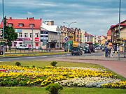 Plac Niepodległości, Grajewo, Polska<br /> Independence Square, Grajewo, Poland