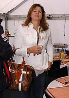 20080413: ESTORIL, PORTUGAL - Moto GP 2008 - Portugal Grand Prix. In picture Roger Federer wife Mirka Vavriner visit circuit. <br /> PHOTO: Alexandre Pona/CITYFILES