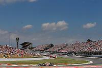 MOTORSPORT - F1 2013 - GRAND PRIX OF SPAIN / GRAND PRIX D'ESPAGNE - BARCELONA (ESP) - 10 TO 12/05/2013 - PHOTO : JEAN MICHEL LE MEUR / DPPI - RAIKKONEN KIMI (FIN) - LOTUS E21 RENAULT - ACTION
