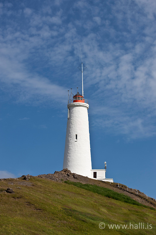 The lighthouse in Reykjanes, Iceland - Reykjanesviti