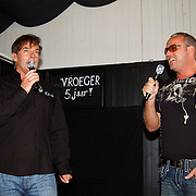 NLD/Bloemendaal/20080518 - Beachclub Vroeger bestaat 5 jaar, Gerard Joling en Gordon Heuckeroth