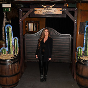 Love Island's Georgia Steel attend Celebs On The Ranch photocall at Jerusalem Bar & Kitchen, on 1st April 2019, London, UK.