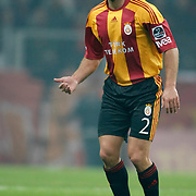 Galatasaray's Lucas NEILL during their Turkish Super League soccer match Galatasaray between Eskisehirspor at the Turk Telekom Arena at Seyrantepe in Istanbul Turkey on Sunday, 06 February 2011. Photo by TURKPIX